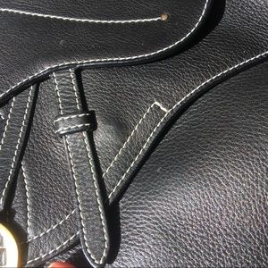 Christian Dior Calfskin Saddle Bag - NOT FOR SALE